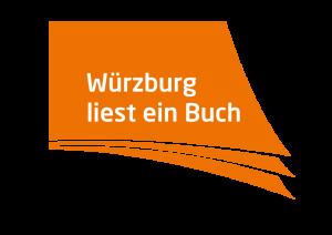 """Logo """"Würzburg liest ein Buch"""" für Websites"""